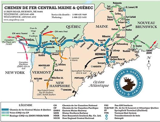 Carte du service CMQ
