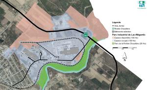 Espace disponible - Parc industriel de Lac-Mégantic
