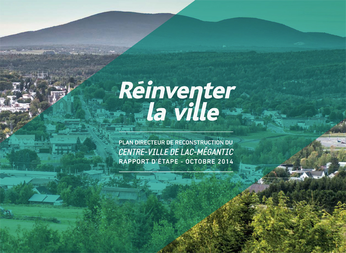 Plan directeur de reconstruction du centre-ville de Lac-Mégantic
