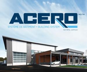 Le système de bâtiments d'acier ACERO