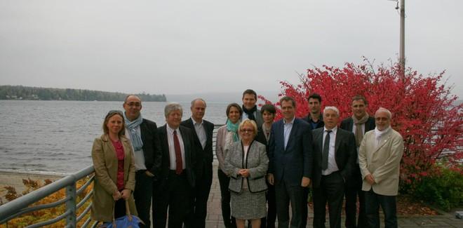 Délégation Nord Isère à Lac-Mégantic